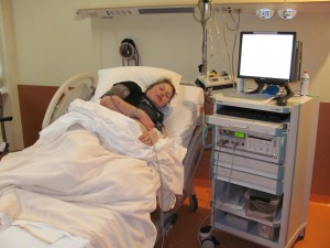 Claar in ziekenhuis